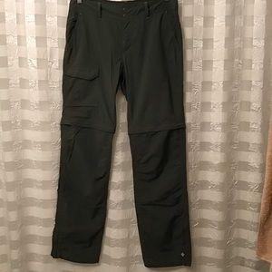 Columbia Omni-Shade Convertible Pants, Size 10